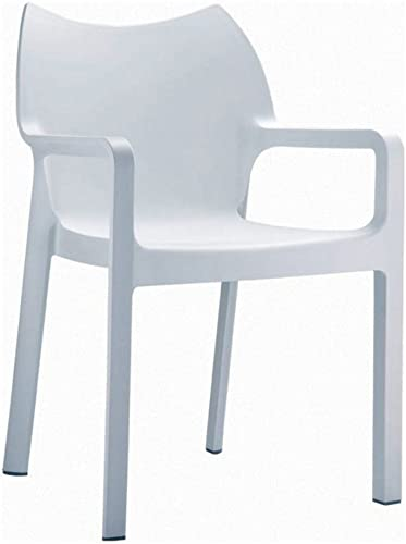 Compamia Diva Resin Outdoor Patio Dining Arm Chair
