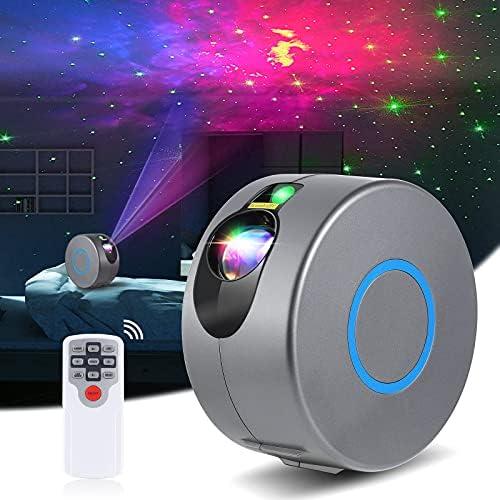 Diealles Shine Galaxy projectorlamp nevelsterrenprojector voor kinderen met afstandsbediening draaibare en kleurveranderende sterrenhemel nachtlampje projector voor kamerdecoratie