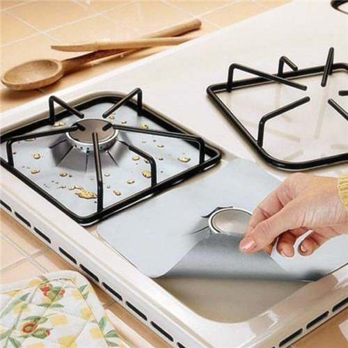 aluminum stove burner covers - 5