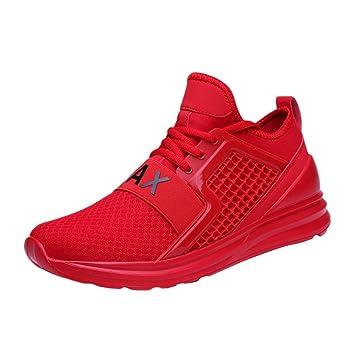 21dccaab LuckyGirls Calzado Deportivo Malla Patchwork Zapatillas de Correr Running  Jogger Bambas de Hombre Zapatos Casual: Amazon.es: Deportes y aire libre