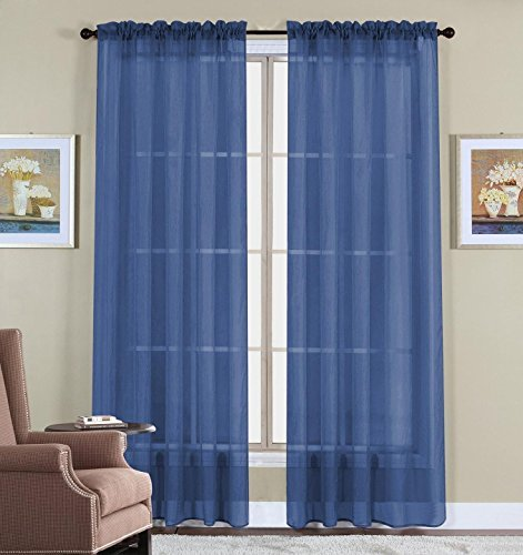 navy-blue-voile-sheer-panel-drape-curtain-for-your-window-fully-stitched-and-hemmed-55x63