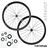 reynolds wheels - Reynolds Cycling - Assault Disc Brake Carbon Fiber Wheelset for Road Bikes, Shimano Compatible