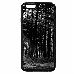 iPhone 6S Case, iPhone 6 Case (Black & White) - GOLDEN RAYS