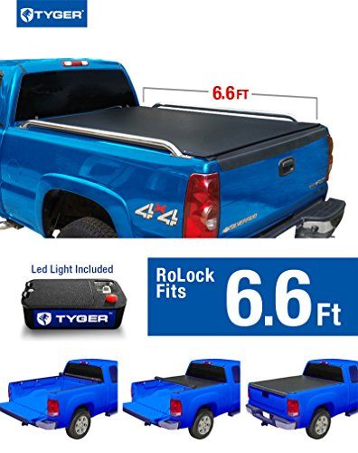 Tyger Auto TG-BC2C2051 RoLock Low Profile Roll-Up Truck B...