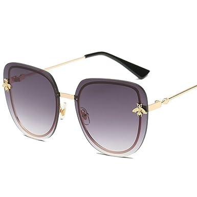 JUNGEN Gafas de sol Unisex Adulto Gafas de sol Redondas de ...