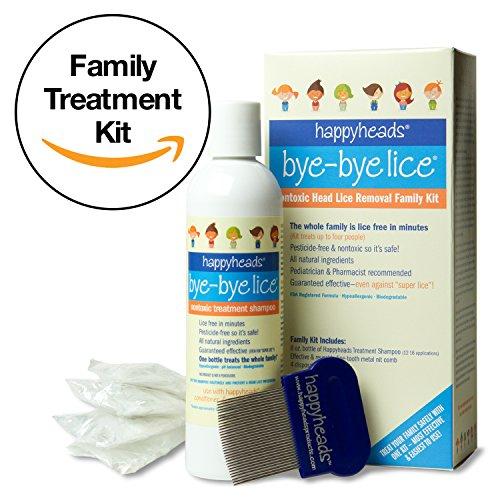Happyheads® Bye-Bye Lice® Family Treatment Box Kit - 8 Fl Oz