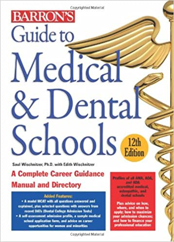Barron's Guide to Medical & Dental Schools: 9780764141225