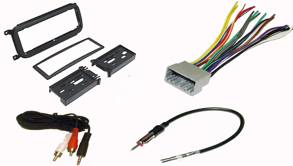 Stereo Wiring Harness Kit - Wiring Diagram Var on