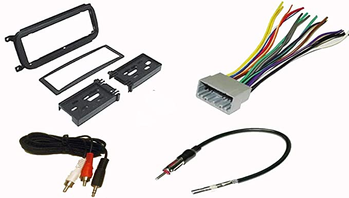Radio Stereo Install Dash Kit + wire harness + antenna adapter for on