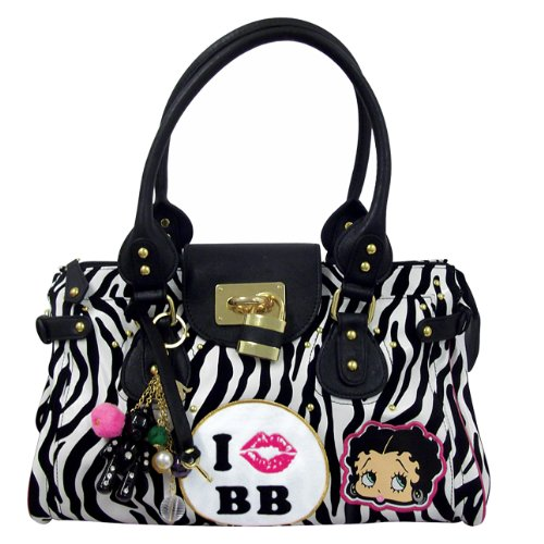 Boop Black Safari On Bolso White Blanco Betty 1nOdq4xO