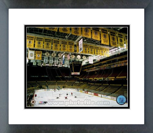 Boston Garden Boston Bruins Framed Picture 8 x 10