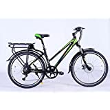 "GreenEdge CS2 Step Through Electric Mountain Ladies Bike 16"" Frame"