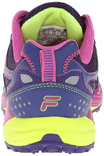 Fila Donna Running Scarpa In Acciaio Mysterioso / Deep Blue / Rose Violet