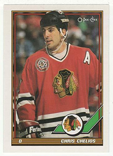 Chris Chelios (Hockey Card) 1991-92 O-Pee-Chee # 233 ()