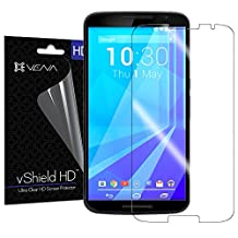 VENA® [3-Pack] Google Nexus 6 Screen Protector [vShield] [Crystal Clear HD] Ultra Smooth Transparent Screen Protector Film for Google Nexus 6 - Lifetime Replacement Warranty