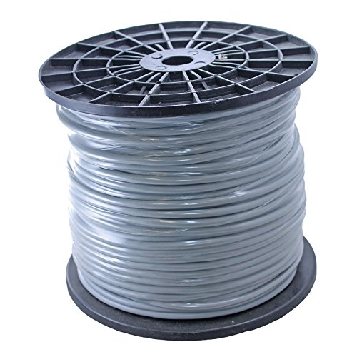 Wire 500' Spool - 500ft Spool of 20awg Balanced Pro Audio Wire For XLR TRS 2 - GREY