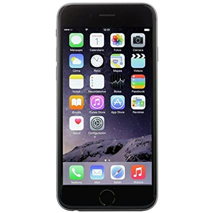 separation shoes 10ea8 1e751 Apple iPhone 6S, GSM Unlocked, 16GB - Space Grey (Renewed)