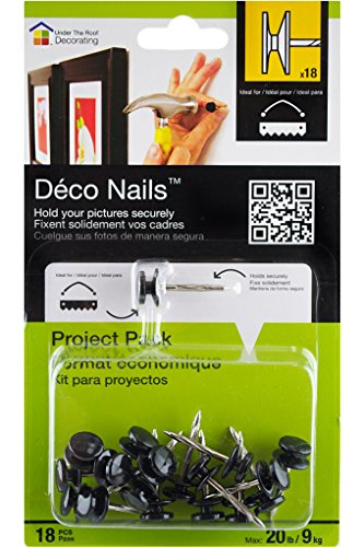 Under the Roof Decorating Deco Nail Large Head Project Pack by Under the Roof Decorating