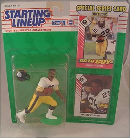 c3f5ced84 Image Unavailable. Image not available for. Color  Starting Lineup NFL  Football Barry Foster ...