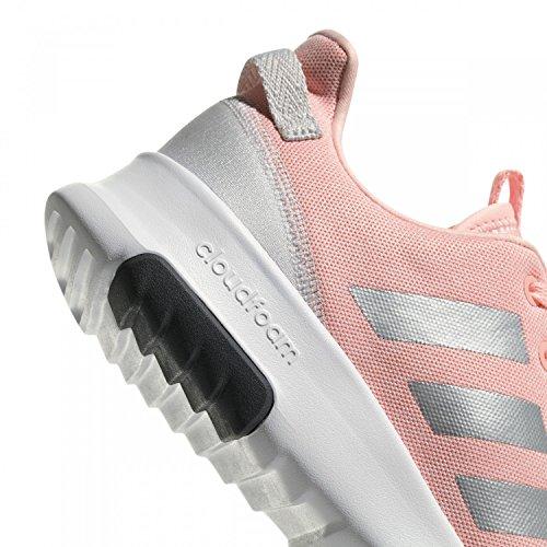 adidas Cloudfoam Racer TR, Zapatillas Unisex Niños Rosa (Corneb / Plamet / Ftwbla 000)