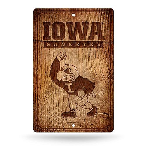 NCAA Iowa Hawkeyes Fantique Wall Sign (Iowa Brown Football Hawkeyes)