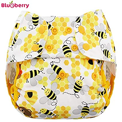 Blueberry Capri 2.0 Überhose - Bears and the Bees Größe One Size (5, 5-16 kg) / Druckies