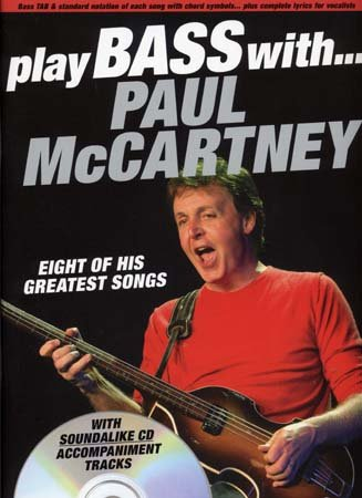WISE PUBLICATIONS MC CARTNEY PAUL PLAY BASS WITH TAB CD
