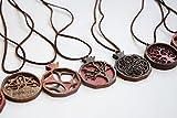 Armenian handmade wooden necklace