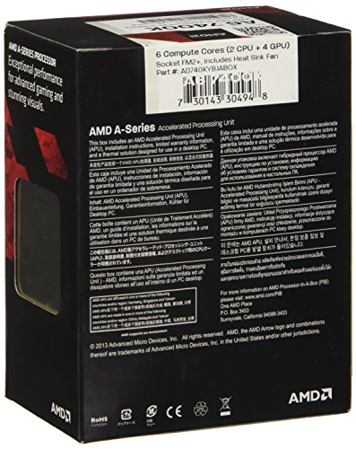 Build My PC, PC Builder, AMD A6-7400K