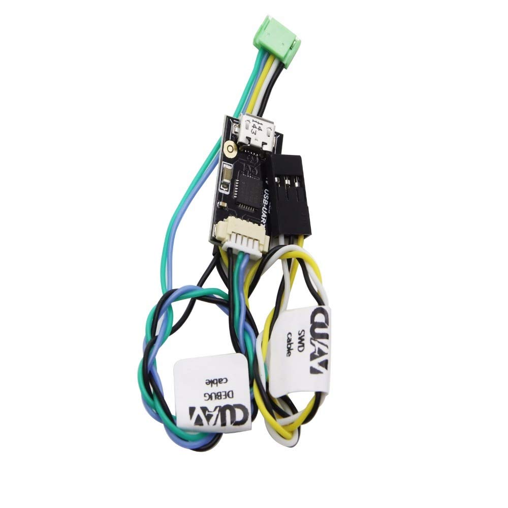 CUAV V5 Autopilot wires Cables connection for pixhack V5