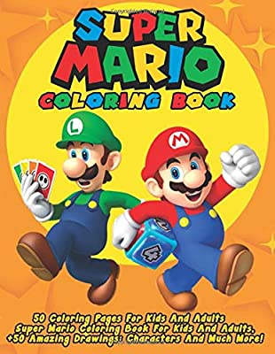 mario coloring pages all characters