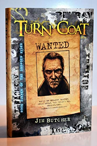 Turn Coat (Dresden Files) Signed & Numbered Limited Edition by Jim Butcher ()