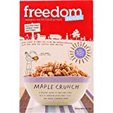 Freedom Foods Cereal - Maple Crunch - Gluten Free - 10.6 oz - case of 5 - Gluten Free - Dairy Free - Wheat Free-Vegan