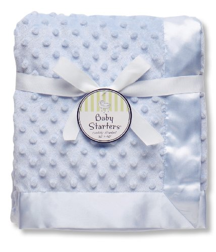 baby-starters-textured-dot-blanket-with-satin-trim-blue-30-x-40