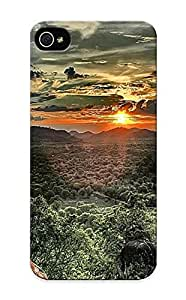 Iphone 5/5s Cover Case Design - Eco-friendly Packaging(sunset In Africa ) by supermalls