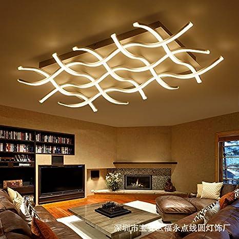 ZHFC-Living Lampara de techo, la simplicidad moderna ...
