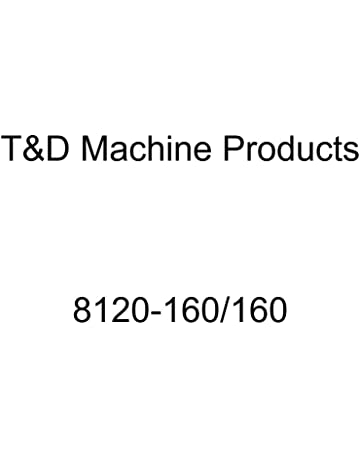 T/&D 8120-160//160 1.6//1.6 Ratio Rocker Arm Shaft Kit for Small Block Mopar