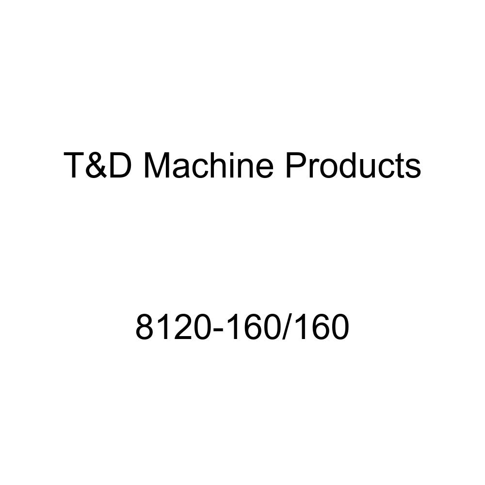 T&D (7341-165/165) 1.65/1.65 Ratio Rocker Arm Shaft Kit for Small Block Ford T&D Machine Products