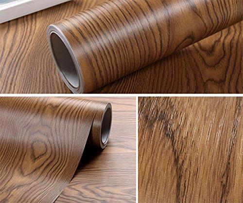 Faux Wood Grain Contact Paper Self Adhesive Shelf Liner