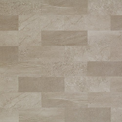 Mannington Hardware ASP402 Adura LockSolid Collection Meridian Luxury Vinyl Tile Flooring, Fossil