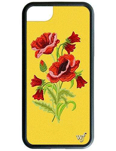 Wildflower Limited Edition iPhone Case for iPhone 6, 7, or 8 (Yellow Floral)