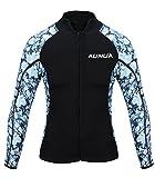 Aunua Men's 2mm Neoprene Wetsuit Camouflage Jacket Long...