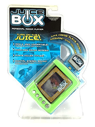 Juice BOX Personal Media Player - Lime Green -