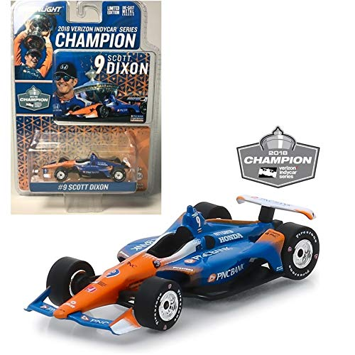 - Greenlight 10835 1: 64 2018#9 Scott Dixon - 2018 Verizon IndyCar Series Champion/Chip Ganassi Racing, PNC Bank