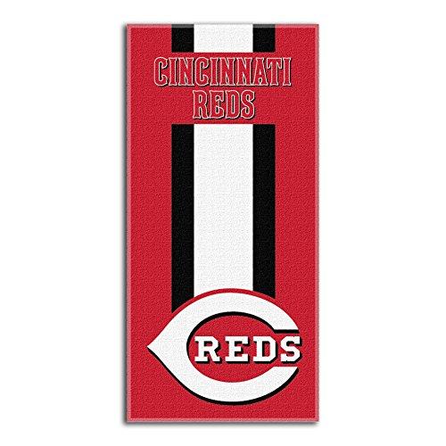 fan products of MLB Cincinnati Reds Zone Read Beach Towel, 30