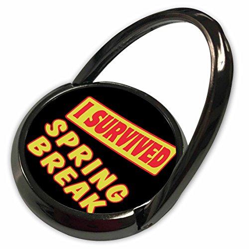 3dRose Dooni Designs Survive Sayings - I Survived Spring Break Survial Pride And Humor Design - Phone Ring (phr_118257_1) (Break Humor Spring)