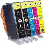 【ICチップ付き 純正と同じように使える】HP(ヒューレット・パッカード)リサイクルインク hp178XL系 5色セット ICチップ付き 増量タイプ
