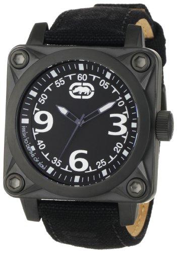 Marc Ecko Men's E12598G1 The Armor Black Canvas Strap Watch