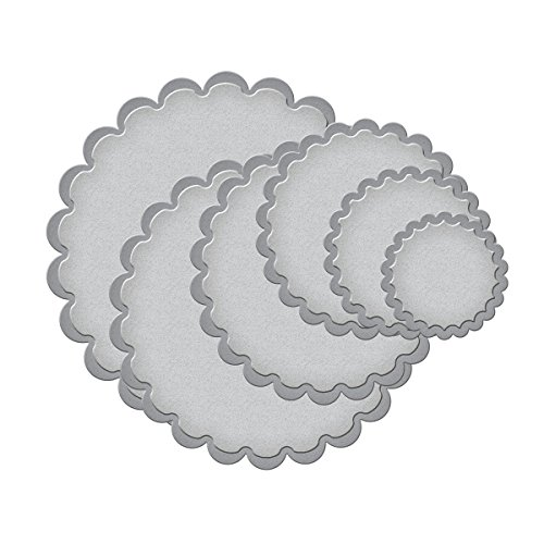 Spellbinders S4-125 Nestabilities Classic Scalloped Circles, Small Etched/Wafer Thin Dies