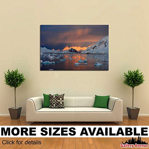 Wall Art Canvas Picture Print - New York Aerial View Empire State Bulding 3.2 ()